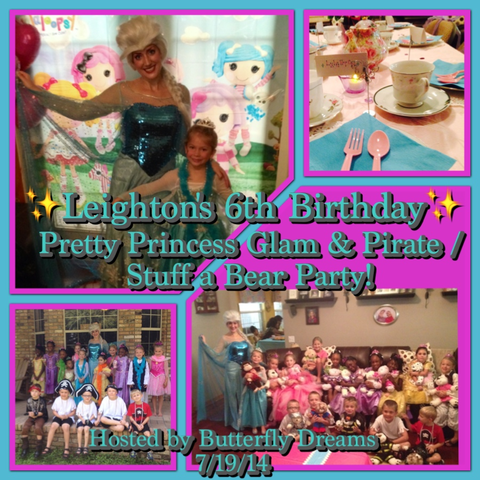 Tanya - St Cloud | Princess & Pirate Tea / Stuff a Bear Party