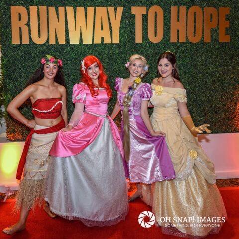 Jenny & Laura - Runway to Hope -  |