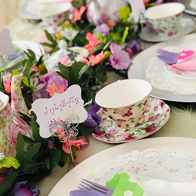 Butterfly Dreams / Fluttering Fairy Glamour Tea Party