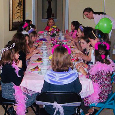 Pretty Princess Dress Up Tea Party