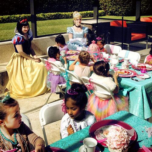 Pretty Princess Tea Party
