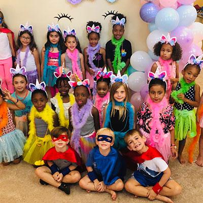 Superhero & Princess Party